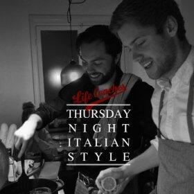Thursday Night Italian Style