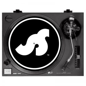 Slipmat design black and white