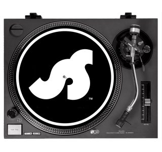 Slipmat design black and white