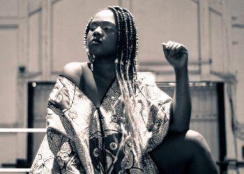 Black girl with braids
