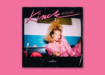 Pink background album art