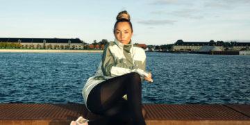 Woman by water Copenhagen