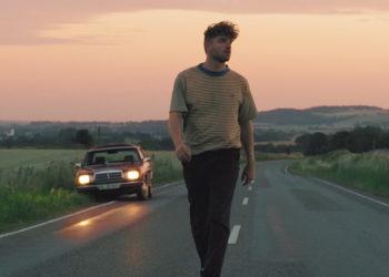 Man walking away from car
