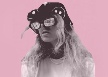Pink creative woman image