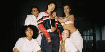 Group of female dancers