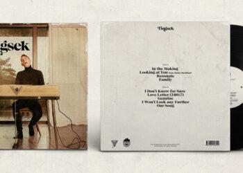 Vinyl record cover