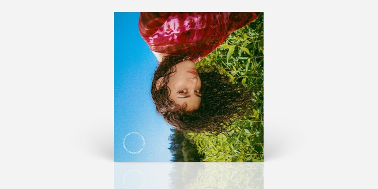 Woman on album cover