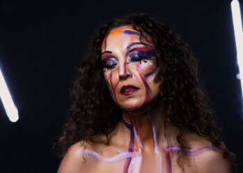Painted woman